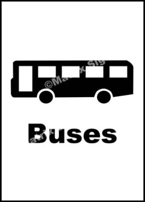 Buses Sign