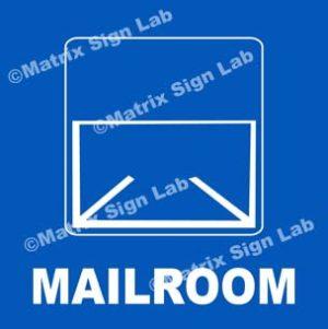 Mailroom Sign