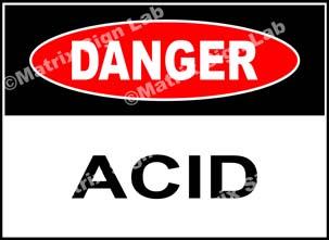 Acid Sign