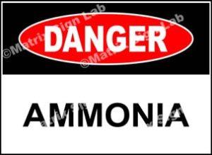 Ammonia Sign