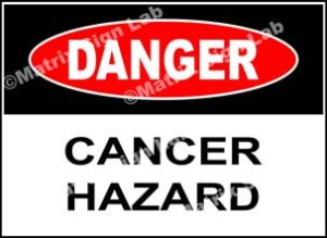Cancer Hazard Sign