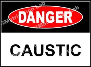 Caustic Sign