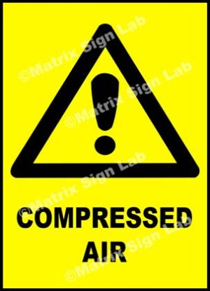 Compressed Air Sign