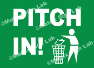 Pitch In! Sign