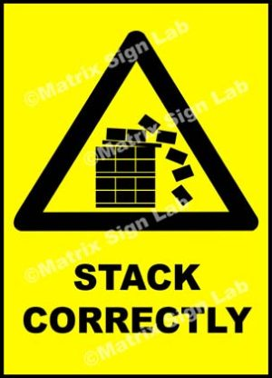 Stack Correctly Sign - MSL21695