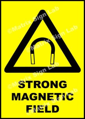 Strong Magnetic Field Sign