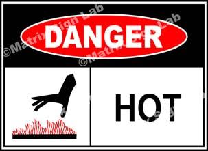 Hot Sign - MSL39305