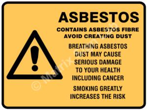 Asbestos Signs