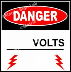(Custom) Volts Sign